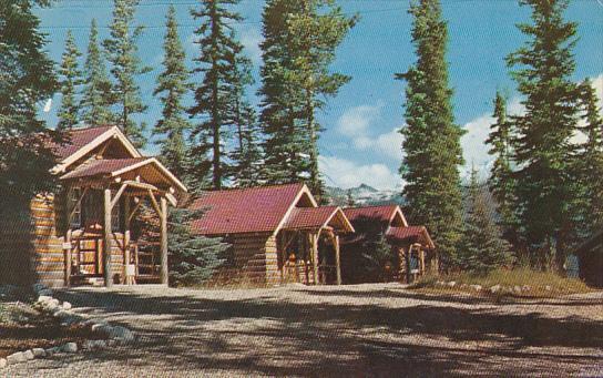 Canada Alberta Lake Louise Paradise Bungalows