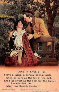 Songs: I Love a Lassie (2) Lovers in Scottish Clothing