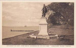 Virginia Jamestown Island Monument To Capt.John Smith Governor Of Virginia In...