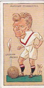 Player Vintage Cigarette Card Football Caricatures By Mac 1927 No 31 Joseph S...