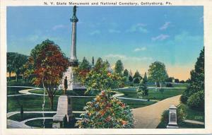 NY State Monument and Cemetery - Gettysburg PA, Pennsylvania - WB