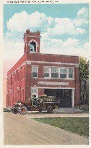 PALMYRA, Pennsylvania, 1900-10s; Citizen's Fire Co. No. 1