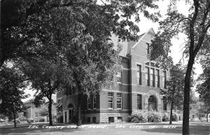 Sac City Iowa Court House Real Photo Antique Postcard K38661