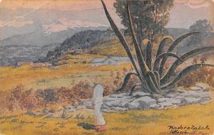 Mexico Old Vintage Antique Post Card Tasdoro Zapata Unused