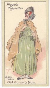 Cigarette Cards Players Characters From Dickens No 30  Sally Brass