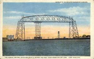 The Aerial Bridge Duluth MN Unused