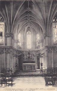 France Amboise Chateau interieure de la chapelle St Blaise