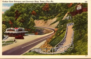 Tennessee Smoky Mountains Cudjos Cave Entrance and Souvenir Shop