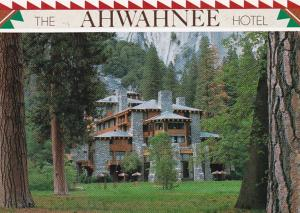 California Yosemite National Park The Ahwahnee Hotel