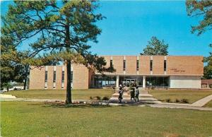 Birmingham Alabama~Miles College~Student Union Building~1966 Postcard