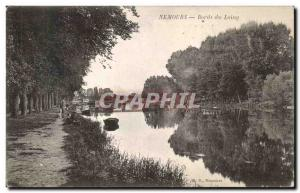 Postcard Old Nemours Banks of the Loing
