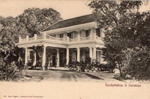 Indonesia Dutch Indies Residentiehuis te Soerabaja 01.52