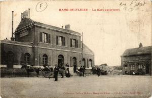 CPA RANG-du-FLIERS La Gare exterieure (376120)