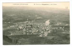 Espalion, Aveyron department , France , 00-10s ; vu de Calmont