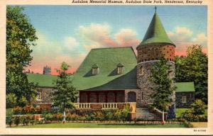 Kentucky Henderson Audubon Memorial Museum Audubon State Park Curteich