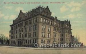 German Hospital, Girard and Corinthian Avenues, Philadelphia, USA Hospital, H...