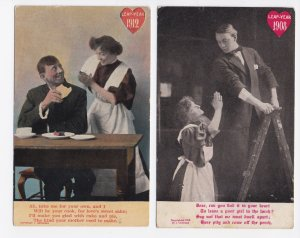Set of 5 - 1908 and 1912 Leap Year Cards