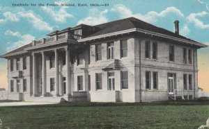 ENID , Oklahoma, 1910s ; Institute for the Feebie Minded