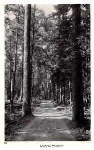 Wisconsin Couderay , Forest Road