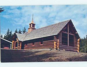Unused Pre-1980 CHURCH SCENE Auke Bay - Juneau Alaska AK A5749