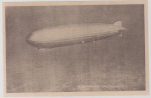 Original Mint RPPC Graf Zeppelin in Flight LZ 127 Postcard