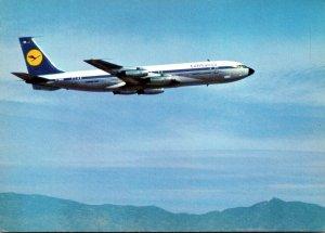Lufthansa Boeing 707 Intercontinental Jet