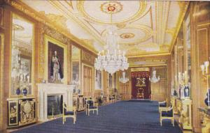 TUCK, Throne Room, The State Apartments, Windsor Castle, England, UK, 1900-1910s