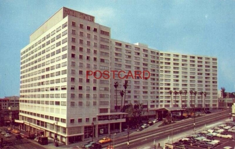 STATLER HOTEL downtown LOS ANGELES, LAST WORD IN MODERN DESIGN AND LUXURY LIVING
