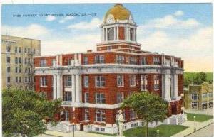 Court House, Macon, Georgia, 30-40s