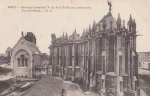 Lille Basilique Cathedrale ND De La Treille French Religious Postcard