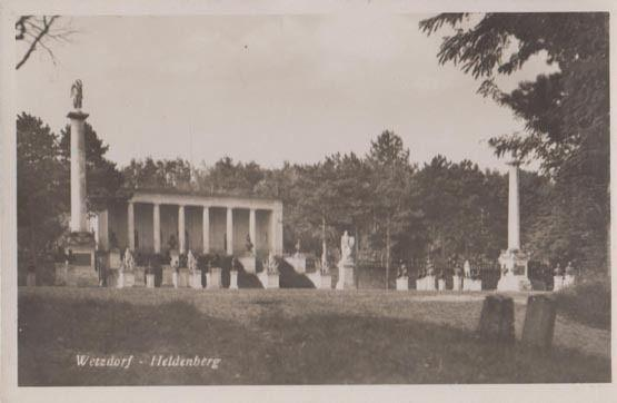 Wetzdorf Heldenberg Real Photo Postcard