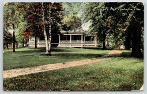 Coshocton OH Path by Birch Tree @ Golf & Country Club~1910 McCoy, of Salina KS