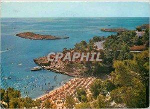 Postcard Modern Illetas Mallorca Beach