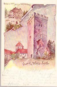 Germany - Wohlenberg Castle and Hotel 1899