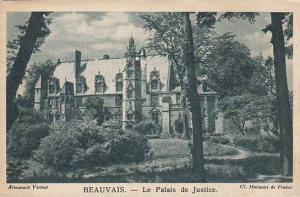 France Beauvais Le Palais de Justice