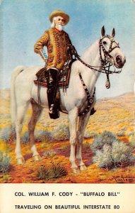 Col. William F. Cody - Buffalo Bill Unused