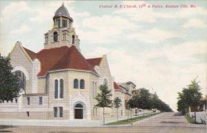 KANSAS CITY, Missouri; Central M. E. Church, 11th & Pasco, 00-10s