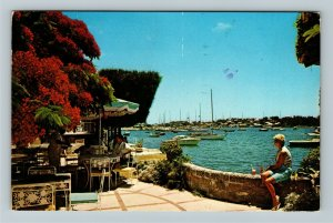 Hamilton- Barbados Waterloo House Resort Area, Advertising, Chrome c1976Postcard
