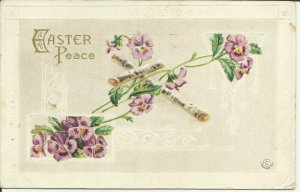 Easter Peace  --- EMBOSSED