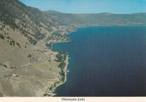 Air view, The Okanagan Lake, B.C., Canada,  00-10s