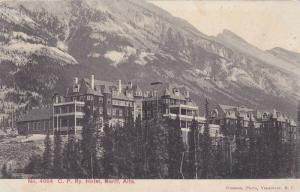 C. P. Ry. Hotel, Banff, Alberta, Canada, PU-1907 (2)