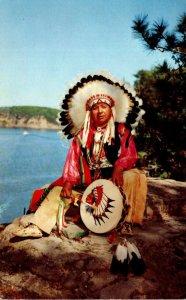 Wisconsin Dells Winnebago Indian Chief White Eagle
