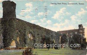 Lansing State Prison Leavenworth, Kansas USA Prison 1910