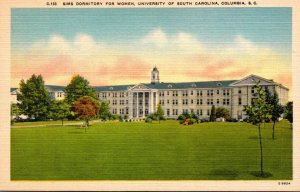 South Carolina Columbia Sims Dormitory For Women University Of South Carolina