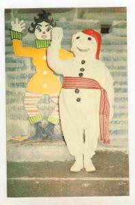 Snowman, Carnaval De Quebec, Canada, 1940-1960s