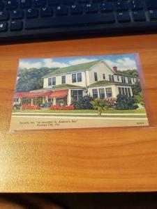 Antique/Vintage Florida Postcard, Seaside Inn, Panama City, Florida