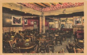 NEW ORLEANS, Louisiana, 1947; The Cocktail Room, Pat O'Brien's