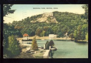 Bristol, Connecticut/CT/Conn Postcard, Rockwell Park, 1936!