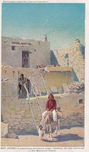NEW MEXICO & ARIZONA, 1910-1930s; Hopi Indians, High Table-Lands