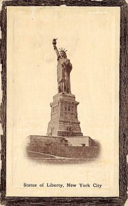 Statue of Liberty Post Card Statue of Liberty, Mechanical, Arm Moves New York...
